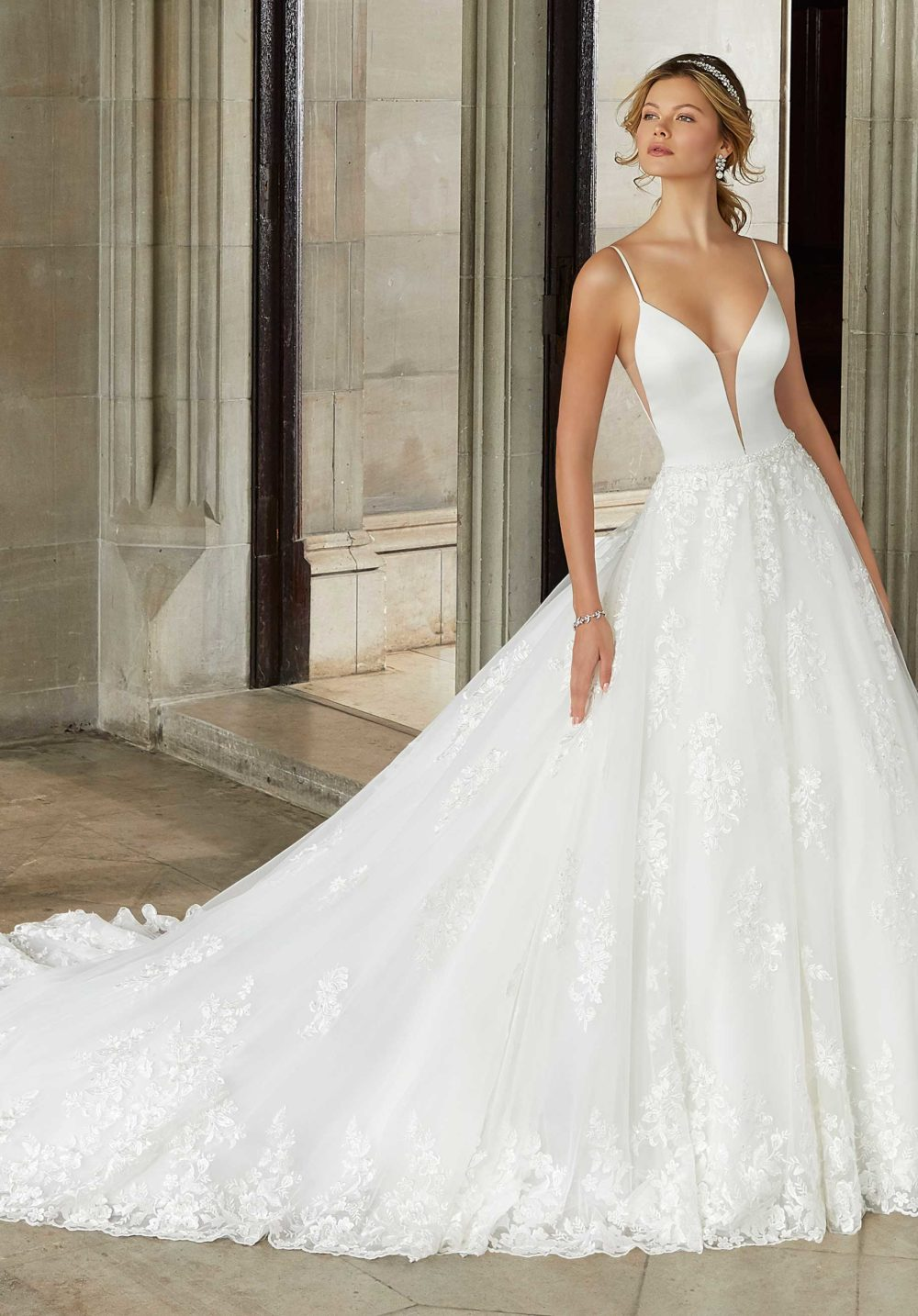 Morilee Wedding Gown Dress style 2125