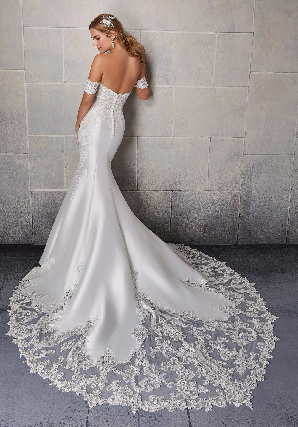 Morilee Wedding Gown Dress style 2131 back