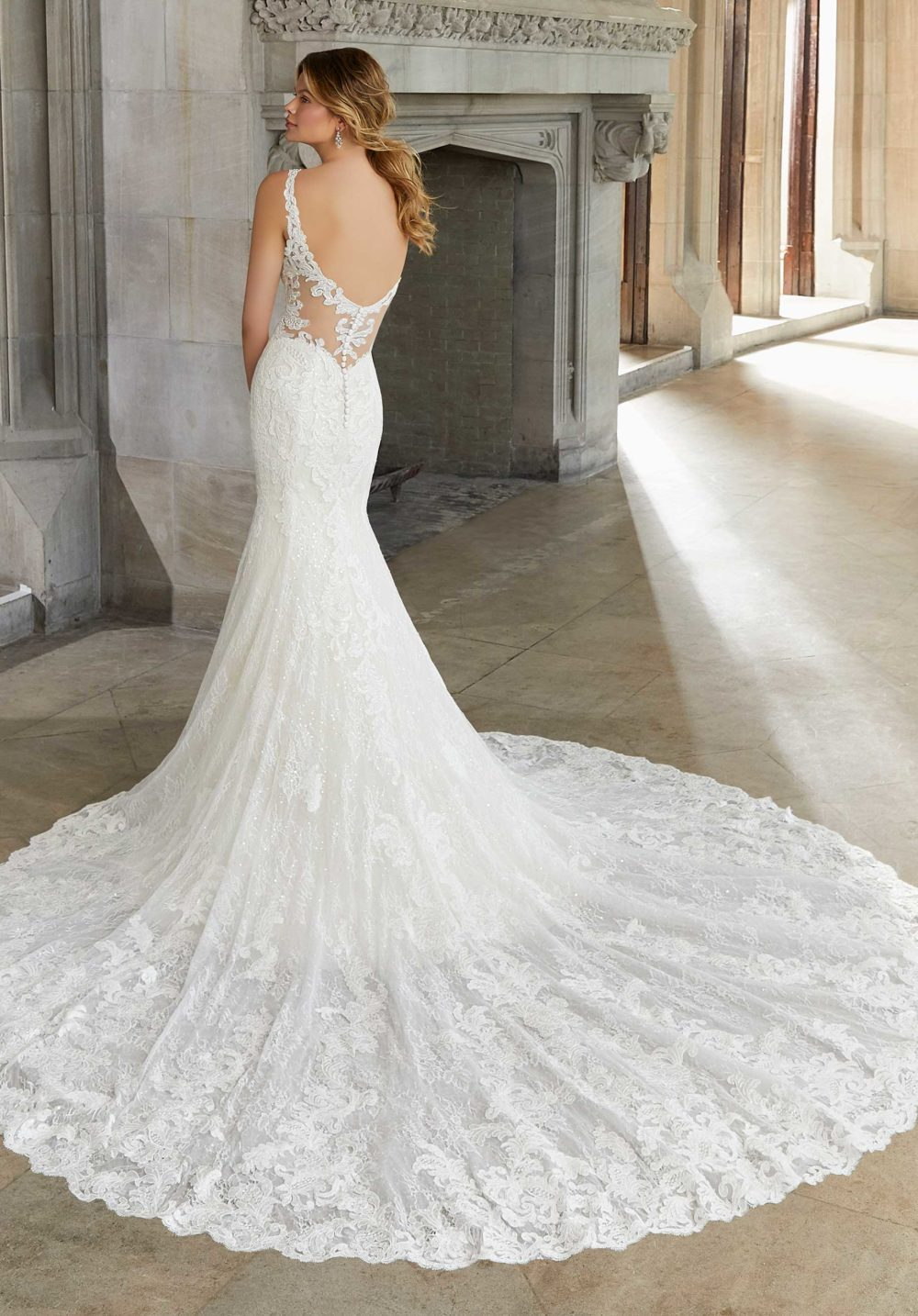 Morilee Wedding Gown Dress style 2133 back