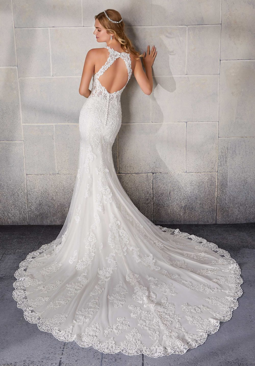 Morilee Wedding Gown Dress style 2137 back