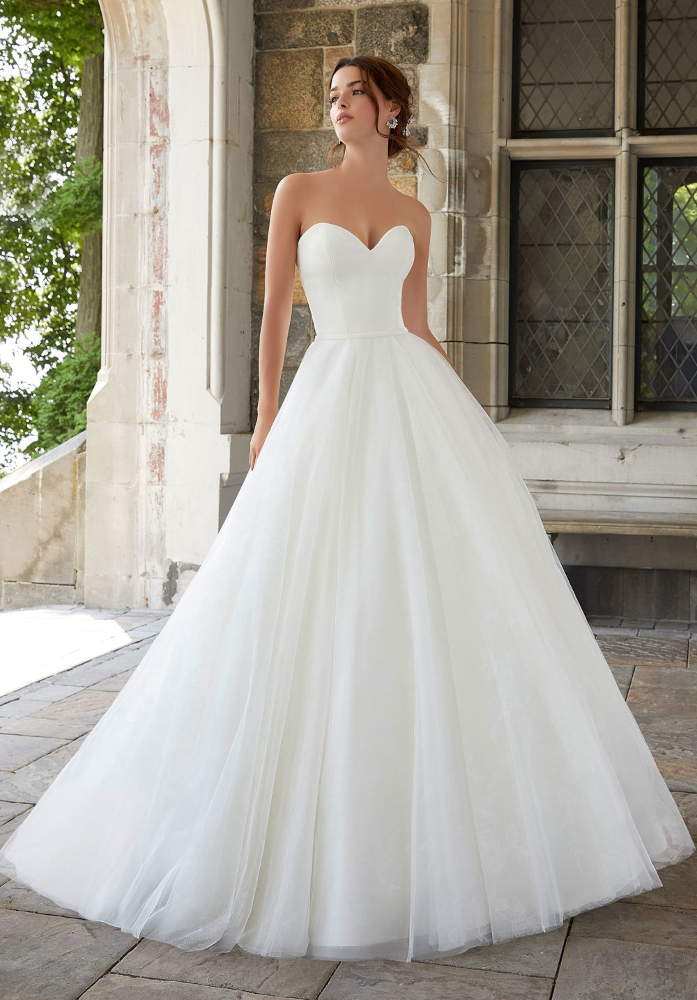 Blu by Morilee wedding gown dress style 5801 details