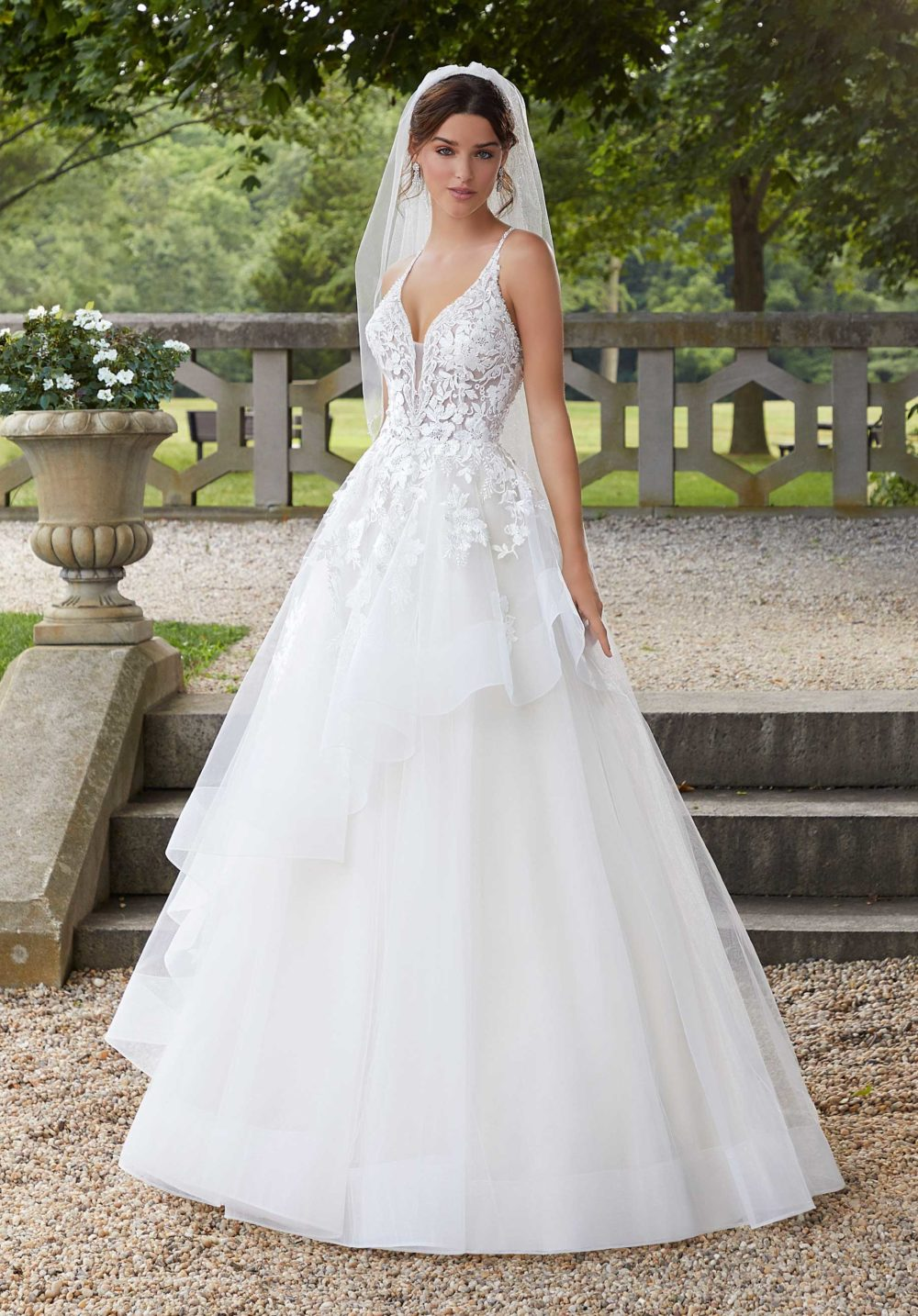 Blu by Morilee wedding gown dress style 5811