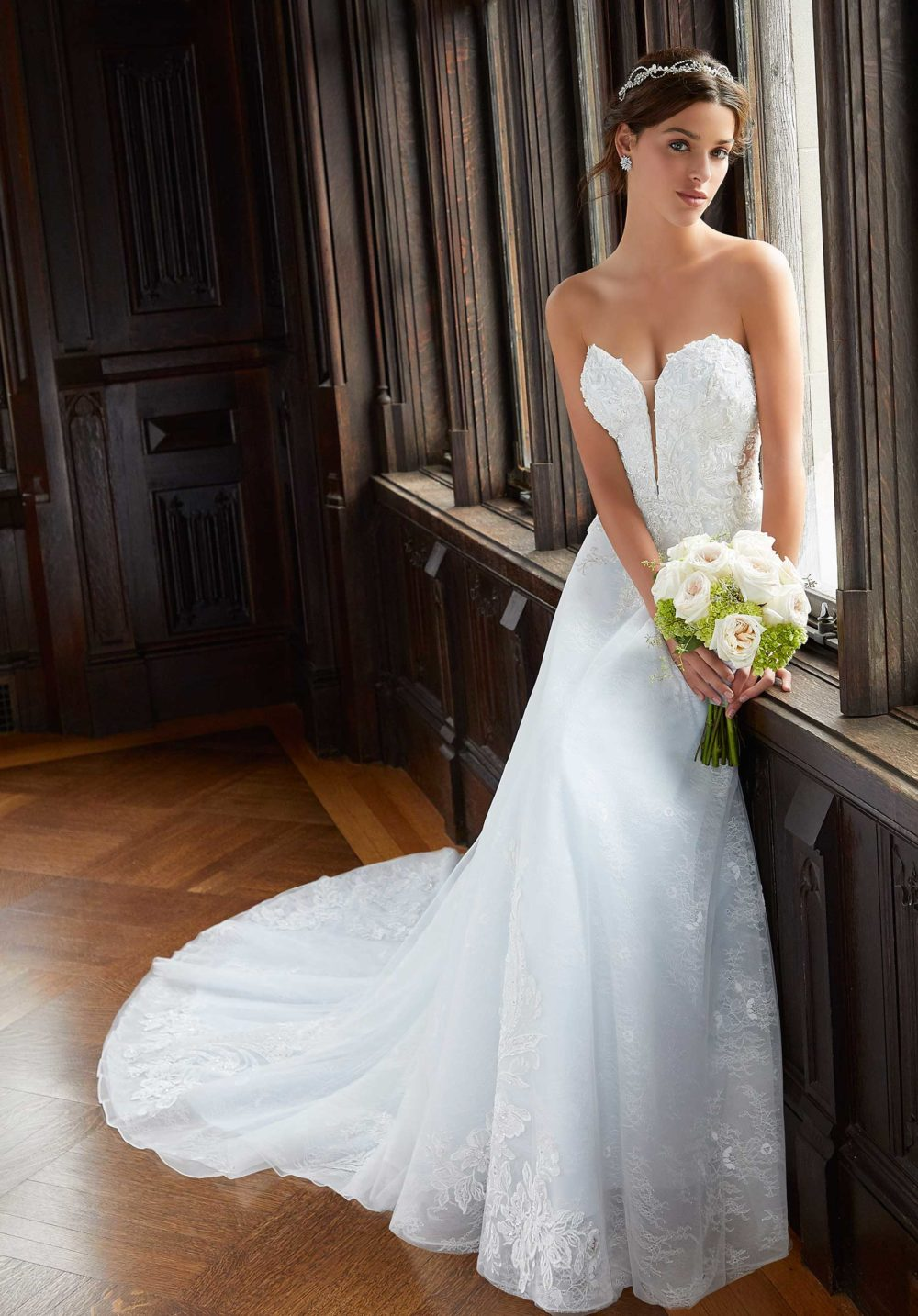 Blu by Morilee wedding gown dress style 5813 c