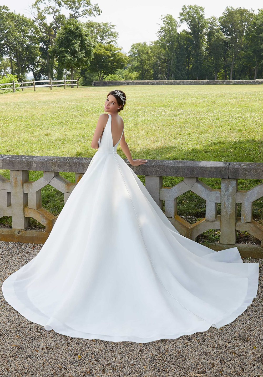 Blu by Morilee wedding gown dress style 5814