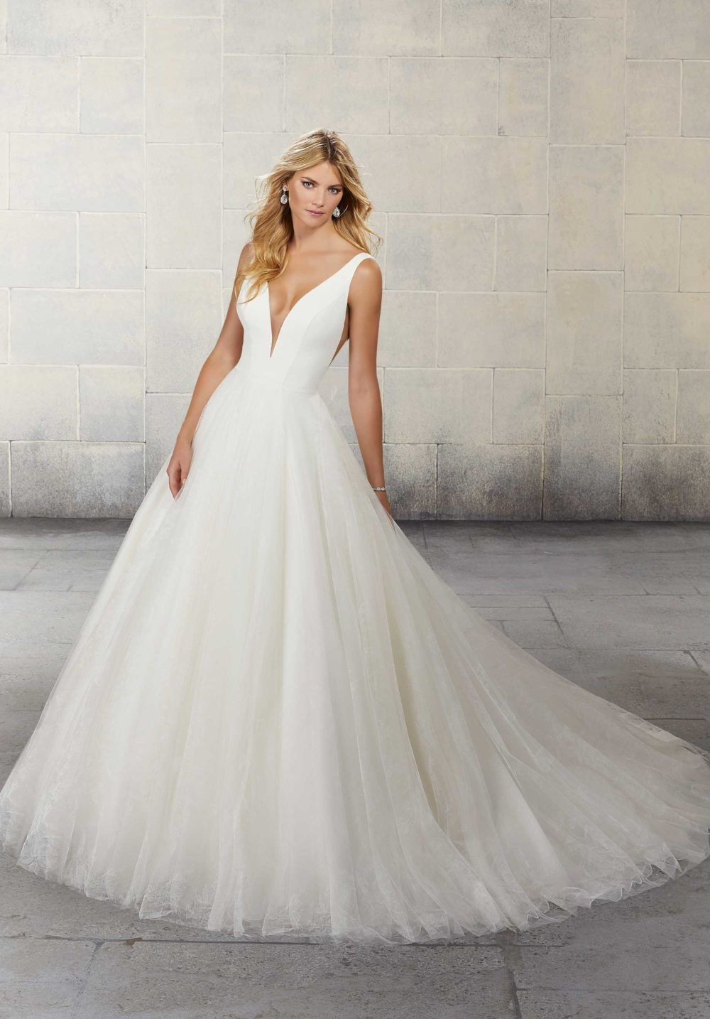 Blu by Morilee wedding gown dress style 5814P