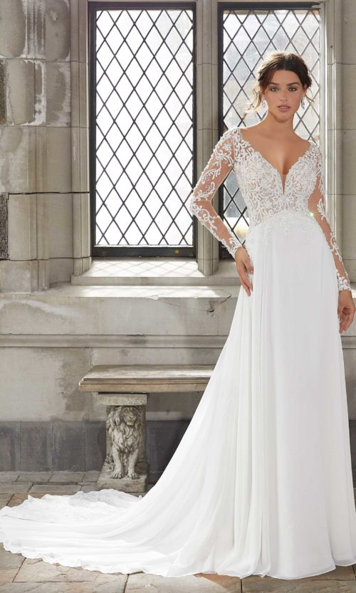 Blue by Morilee wedding gown dress style 5816