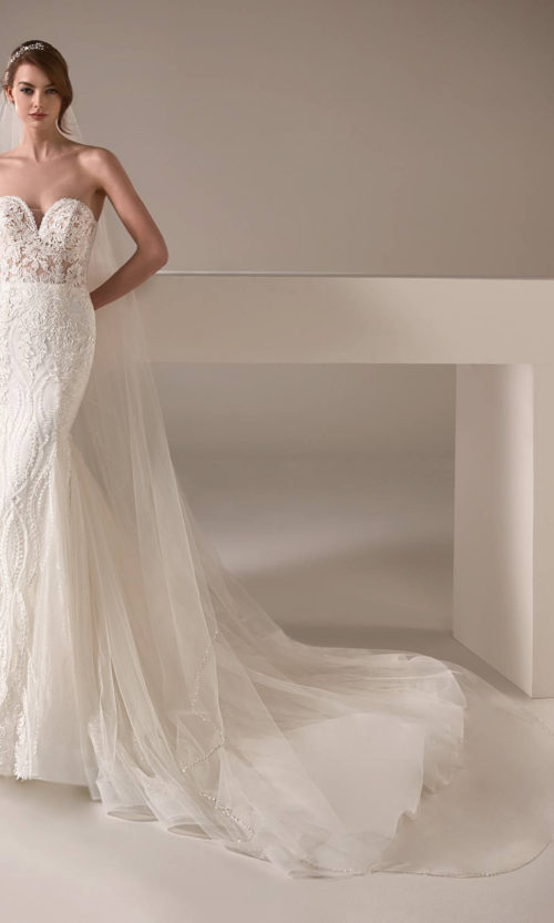 Alison Wedding Dress Gown from Pronovias Privee Collection