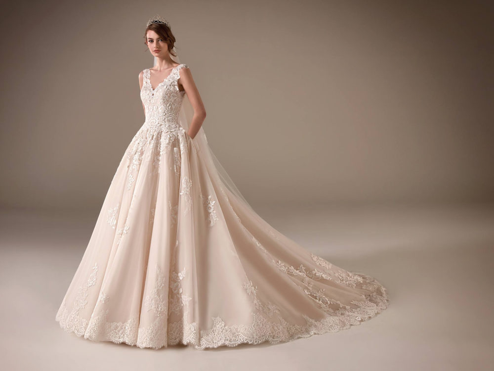 Amal Wedding Dress Gown from Pronovias Privee Collection