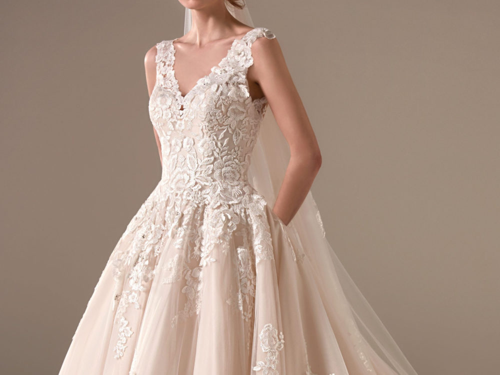 Amal Wedding Dress Gown from Pronovias Privee Collection H