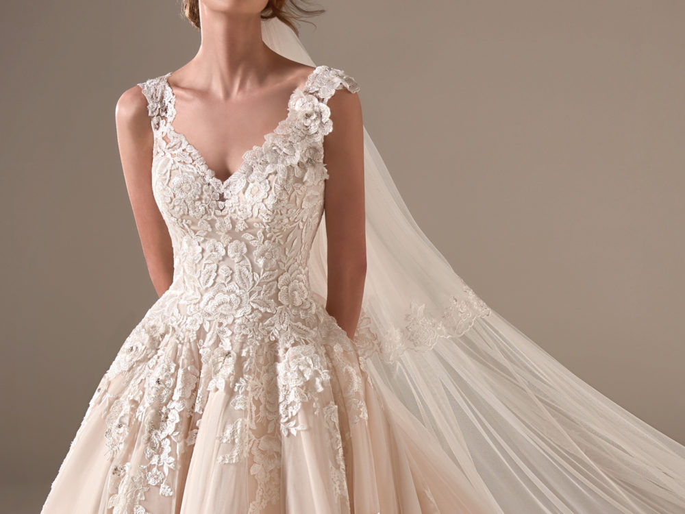Amal Wedding Dress Gown from Pronovias Privee Collection J