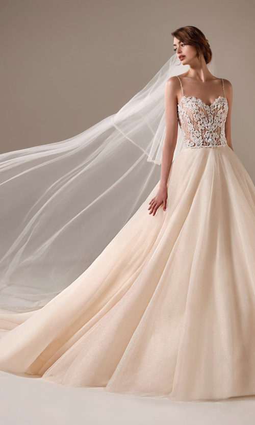 Beth Wedding Dress Gown from Pronovias Privee Collection