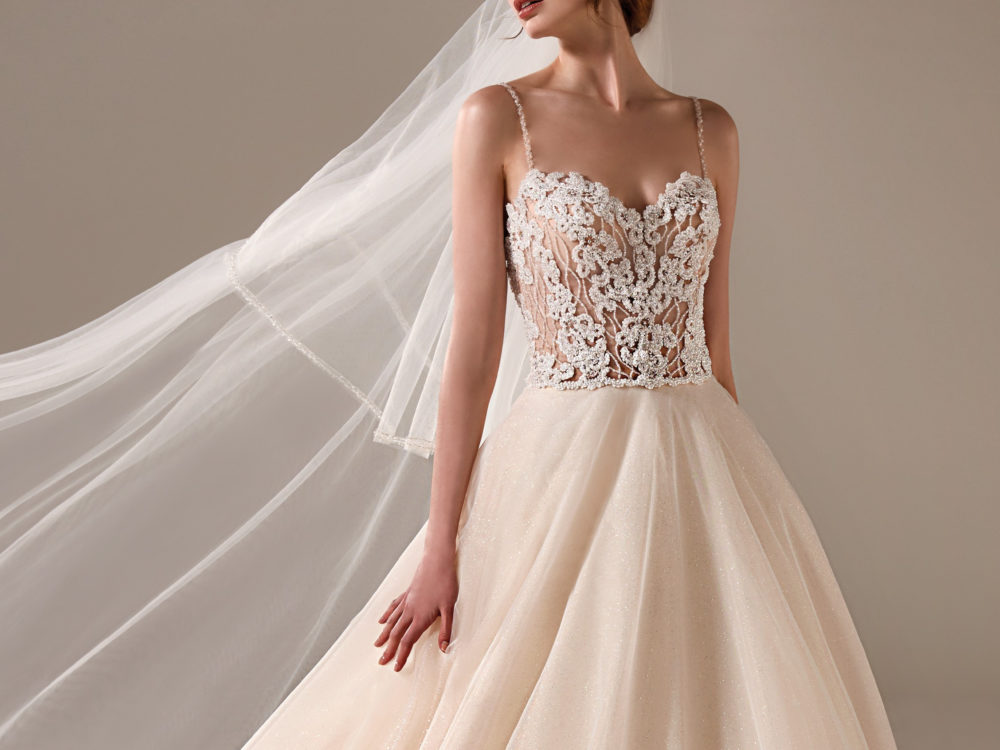 Beth Wedding Dress Gown from Pronovias Privee Collection H