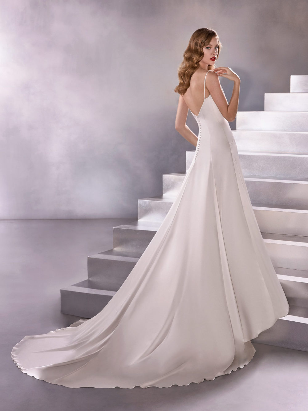 Pronovias Big Bang Wedding Gown Dress 2020 Atelier Collection Side