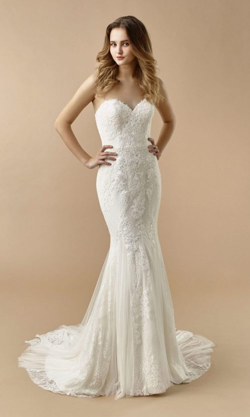 Beautiful by Enzoani Wedding gown dress BT20-17