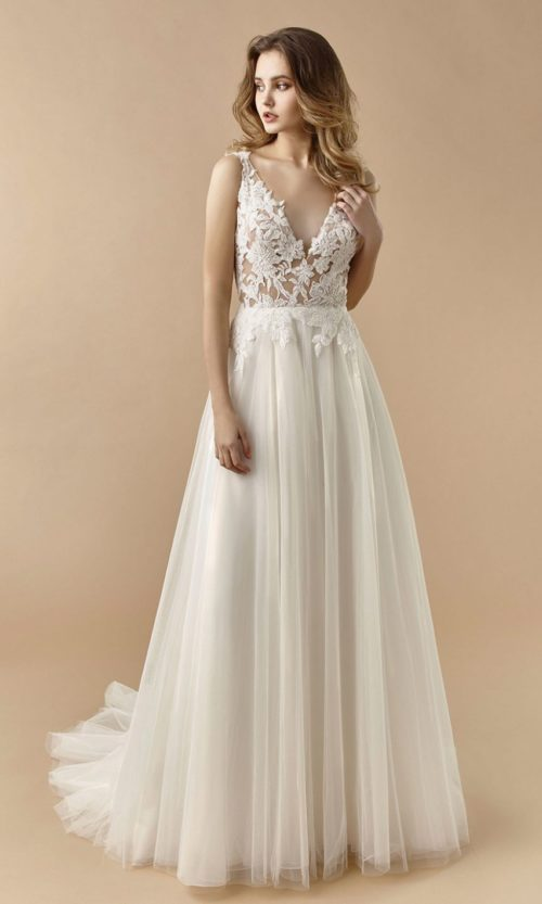 Beautiful by Enzoani Wedding gown dress BT20-26