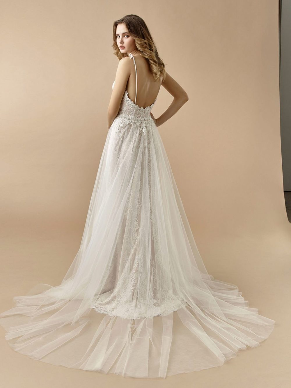 Beautiful by Enzoani Wedding gown dress BT20-09 back