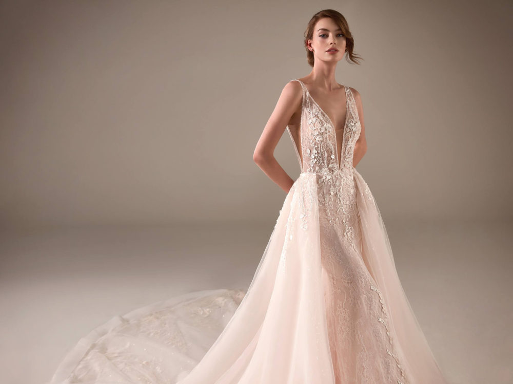 Chimamanda Wedding Dress Gown from Pronovias Privee Collection detail