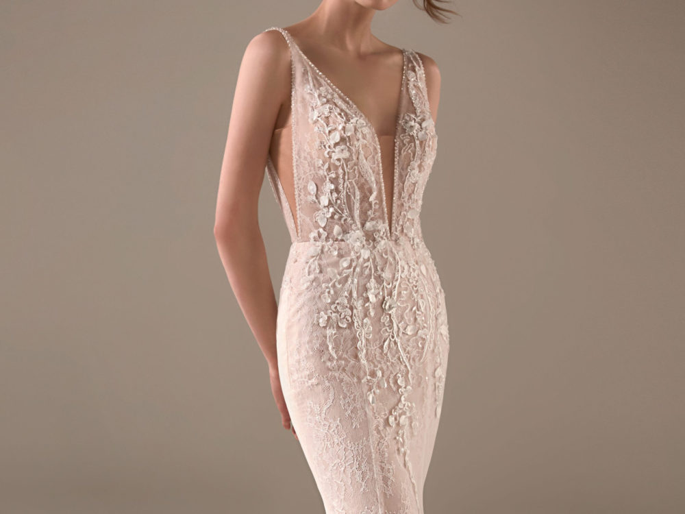 Chimamanda Wedding Dress Gown from Pronovias Privee Collection body