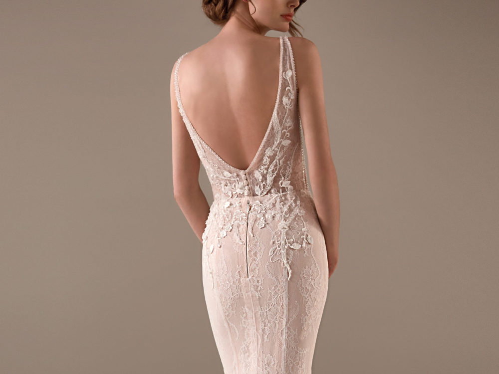 Chimamanda Wedding Dress Gown from Pronovias Privee Collection back