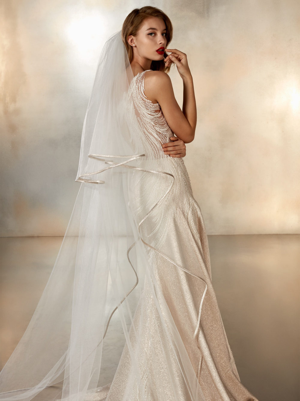 Pronovias Atelier Collection Moon Dance Wedding Gown Dress 2020 Right