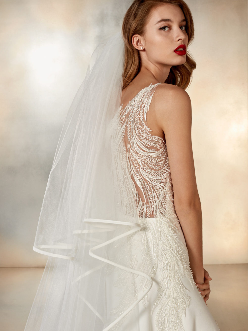 Pronovias Atelier Collection Moon Dance Wedding Gown Dress 2020 Right Side