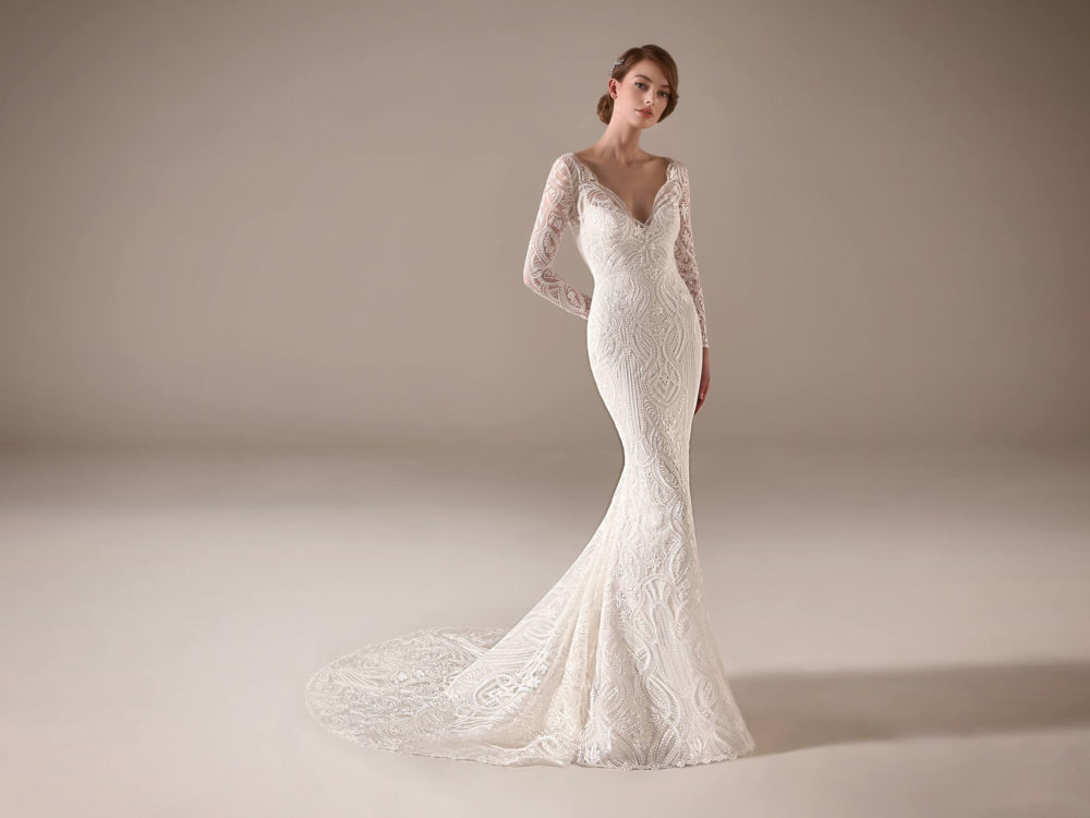 Danica Wedding Dress Gown from Pronovias Privee Collection