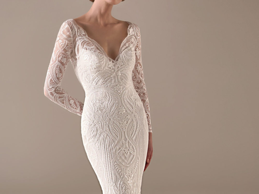 Danica Wedding Dress Gown from Pronovias Privee Collection H