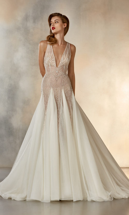 Pronovias Star Dreaming Wedding Gown Dress 2020 Atelier Collection