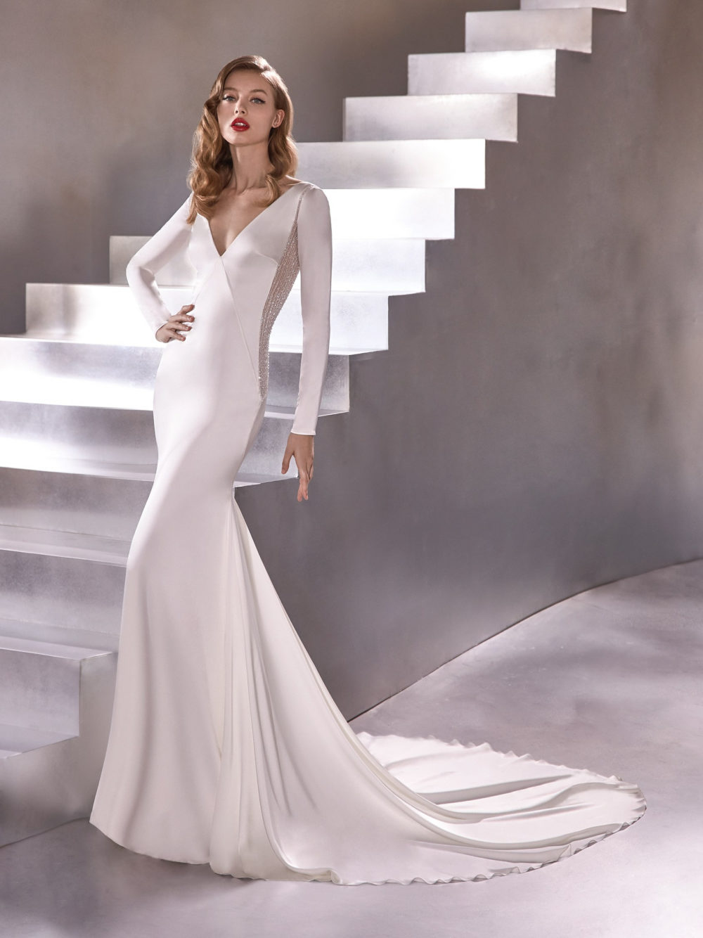 Pronovias Eclipse Wedding Gown Dress 2020 Atelier Collection