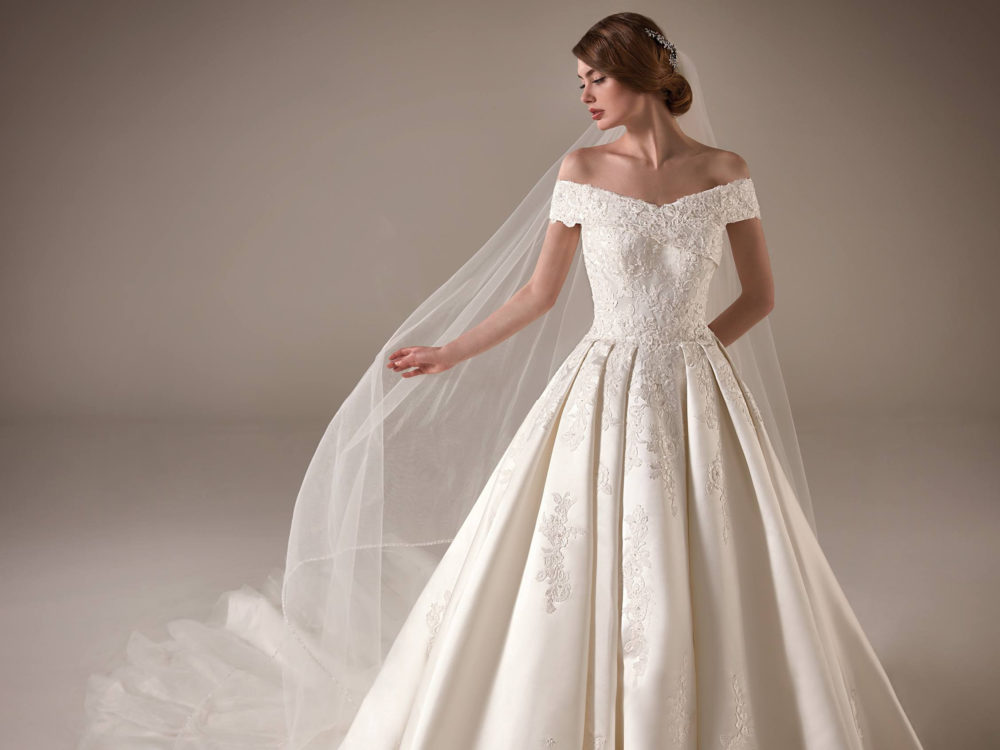Emma Wedding Dress Gown from Pronovias Privee Collection D