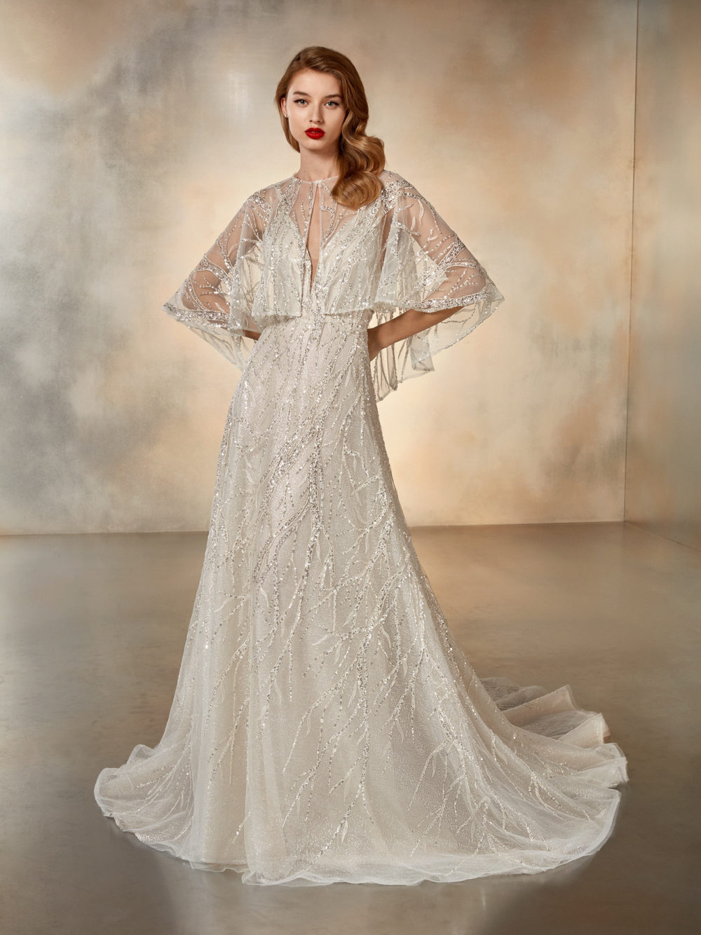 Pronovias Atelier Collection Evening Star Wedding Gown Dress 2020