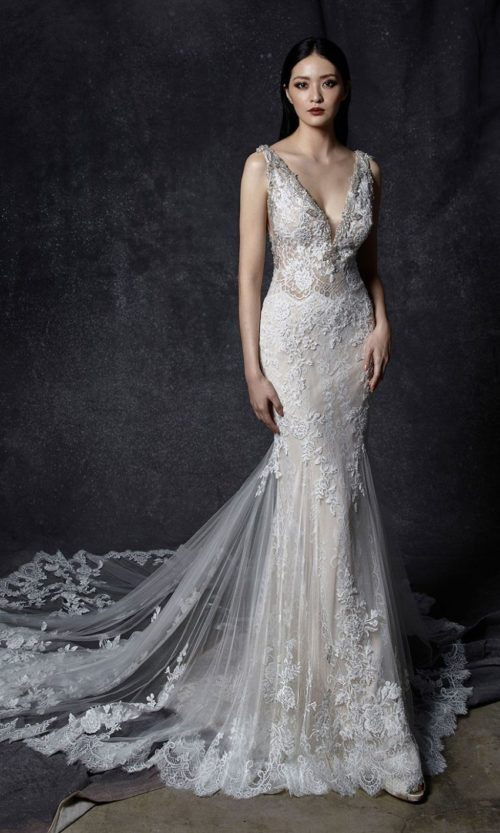 Ocilia by Enzoani Wedding gown dress front