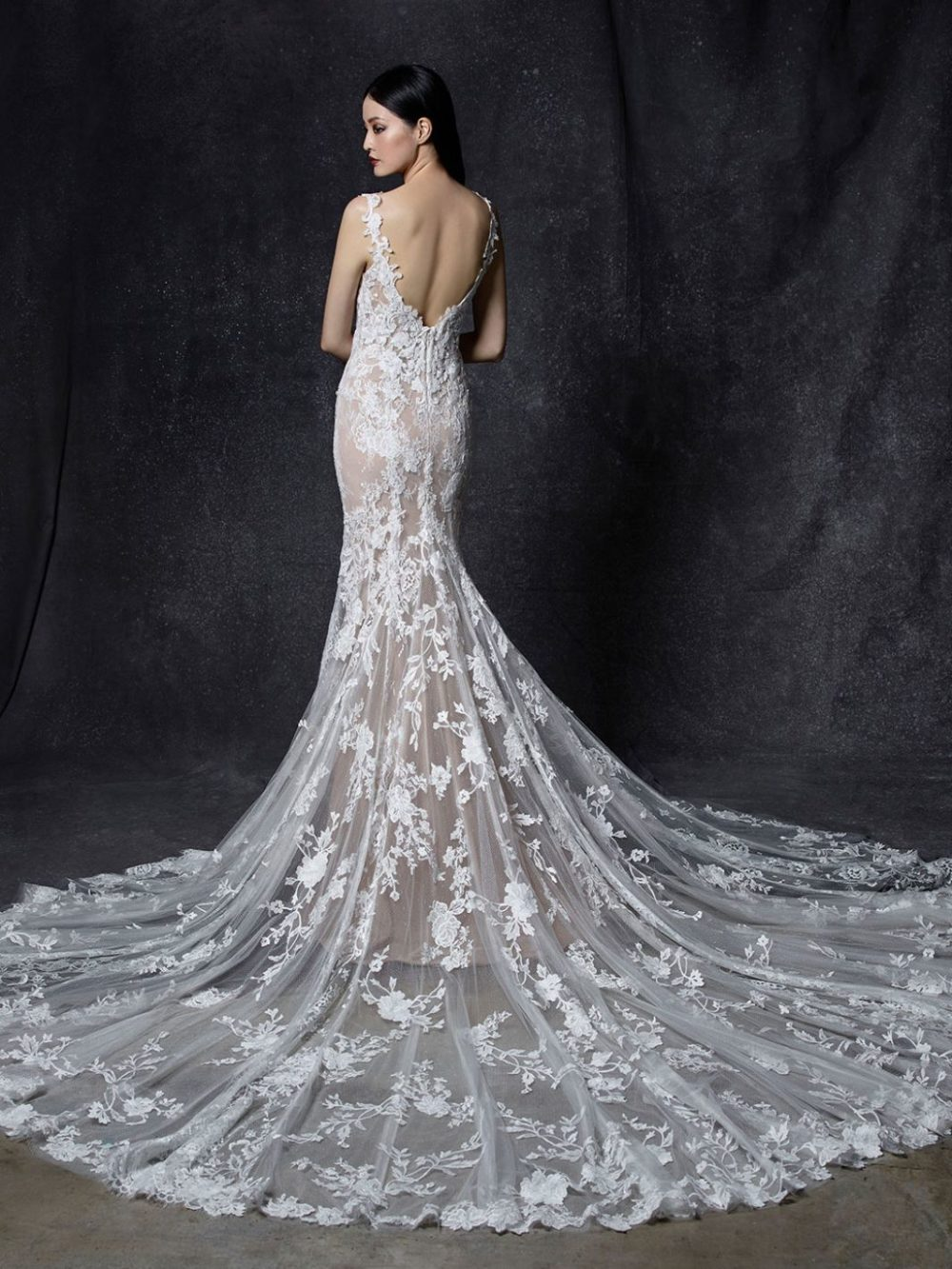 Odele by Enzoani Wedding gown dress back