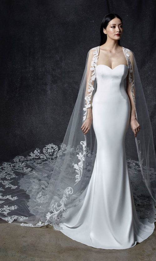 Odelia by Enzoani Wedding gown dress front