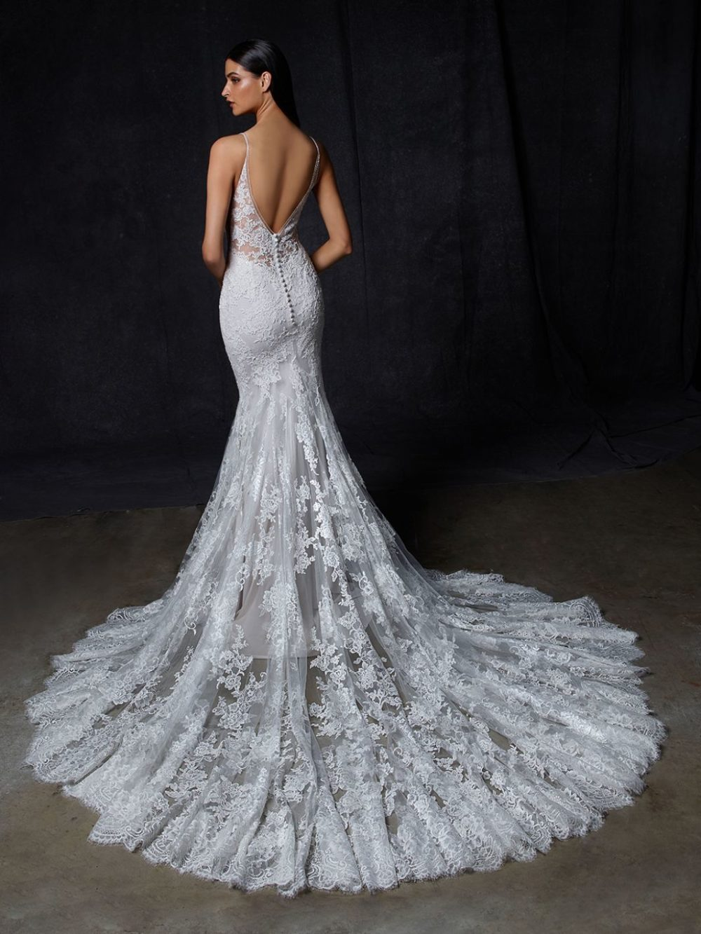 Onora by Enzoani Wedding gown dress back