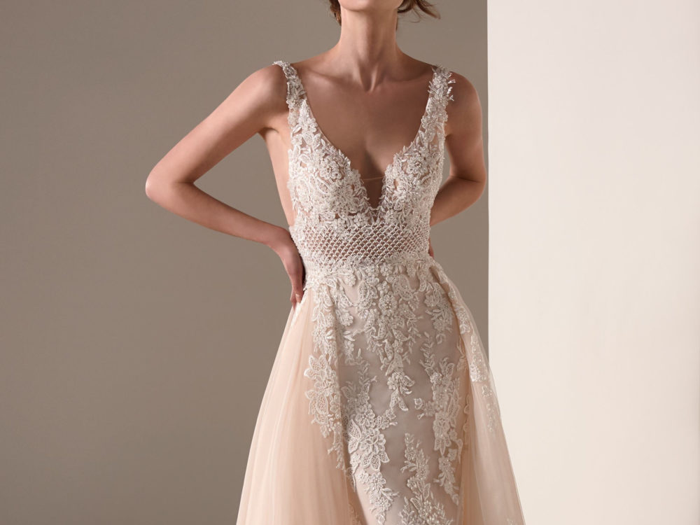 Franca Wedding Dress Gown from Pronovias Privee Collection J