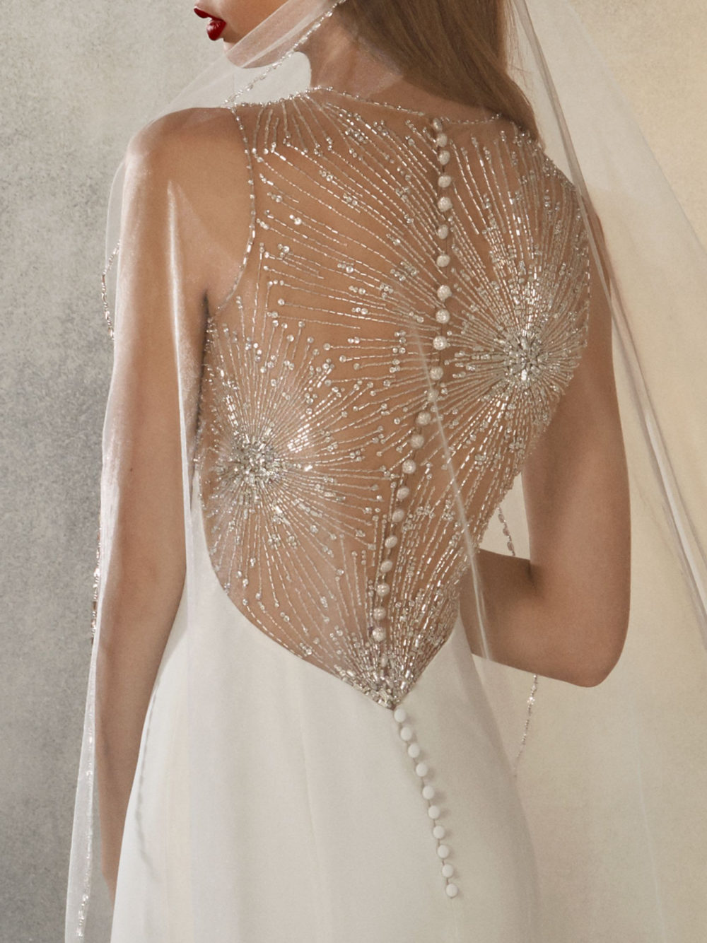 Pronovias Atelier Collection Galaxy Wedding Gown Dress 2020 Back