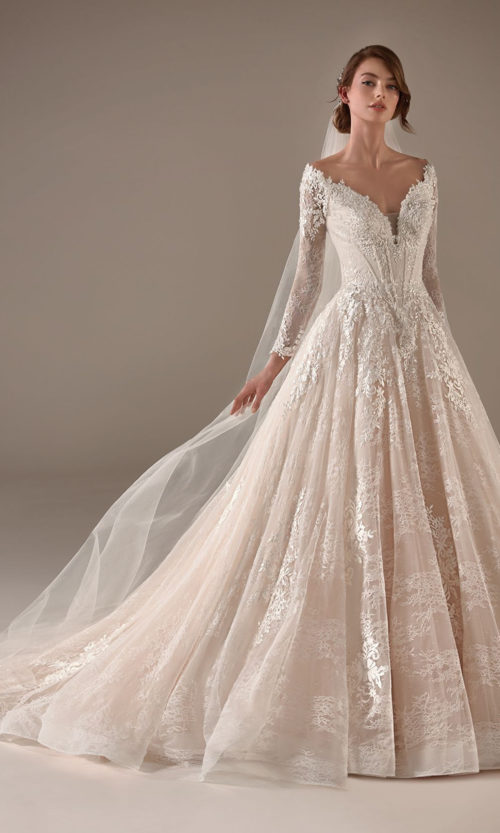 Hillary Wedding Dress Gown from Pronovias Privee Collection