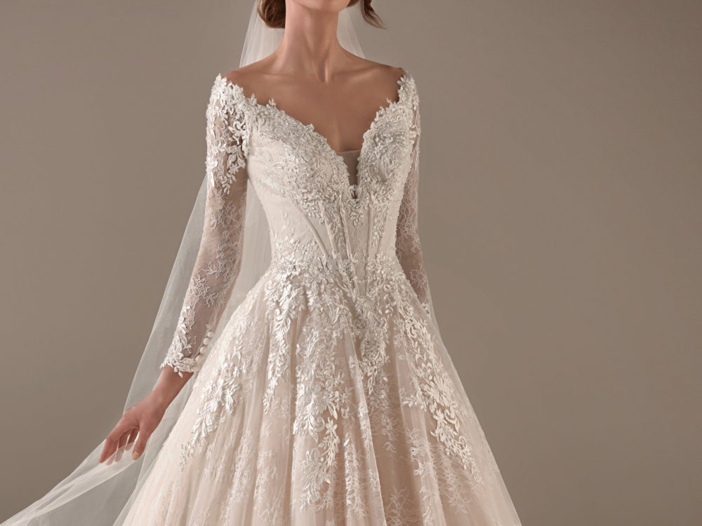 Hillary Wedding Dress Gown from Pronovias Privee Collection H