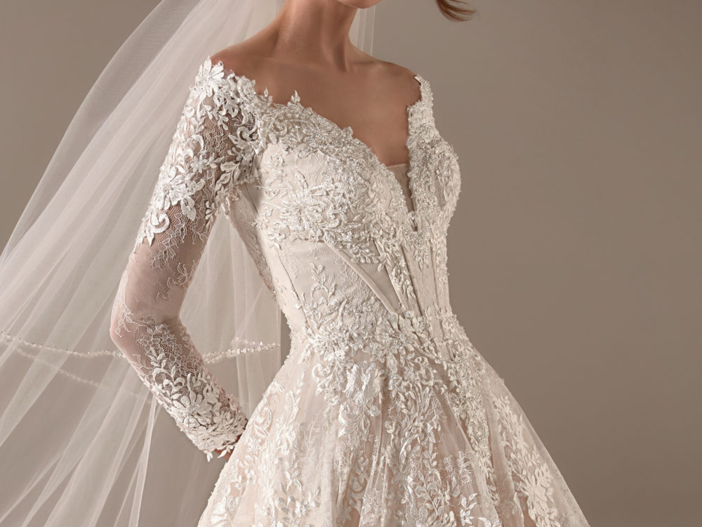 Hillary Wedding Dress Gown from Pronovias Privee Collection J