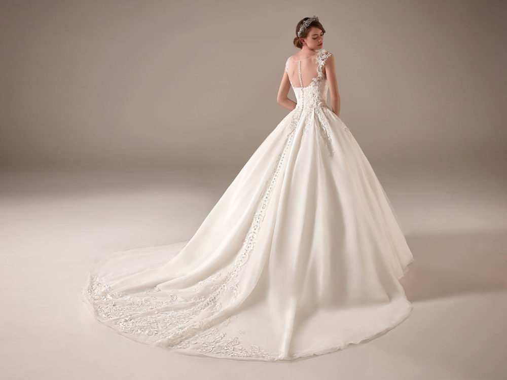 Indra Wedding Dress Gown from Pronovias Privee Collection C