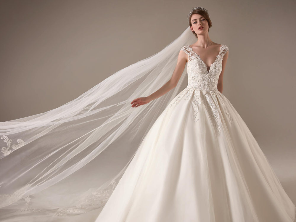 Indra Wedding Dress Gown from Pronovias Privee Collection D