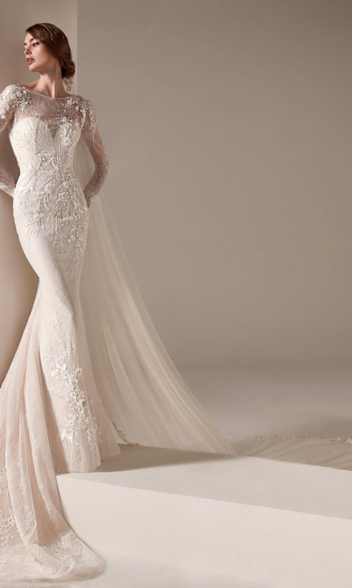 Jacinda Wedding Dress Gown from Pronovias Privee Collection
