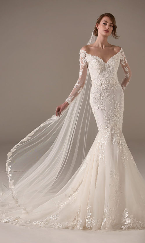 Kamala Wedding Dress Gown from Pronovias Privee Collection