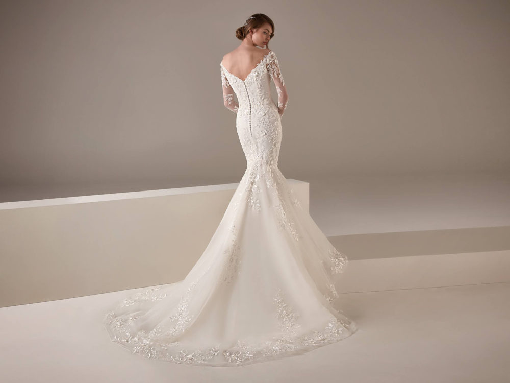 Kamala Wedding Dress Gown from Pronovias Privee Collection C