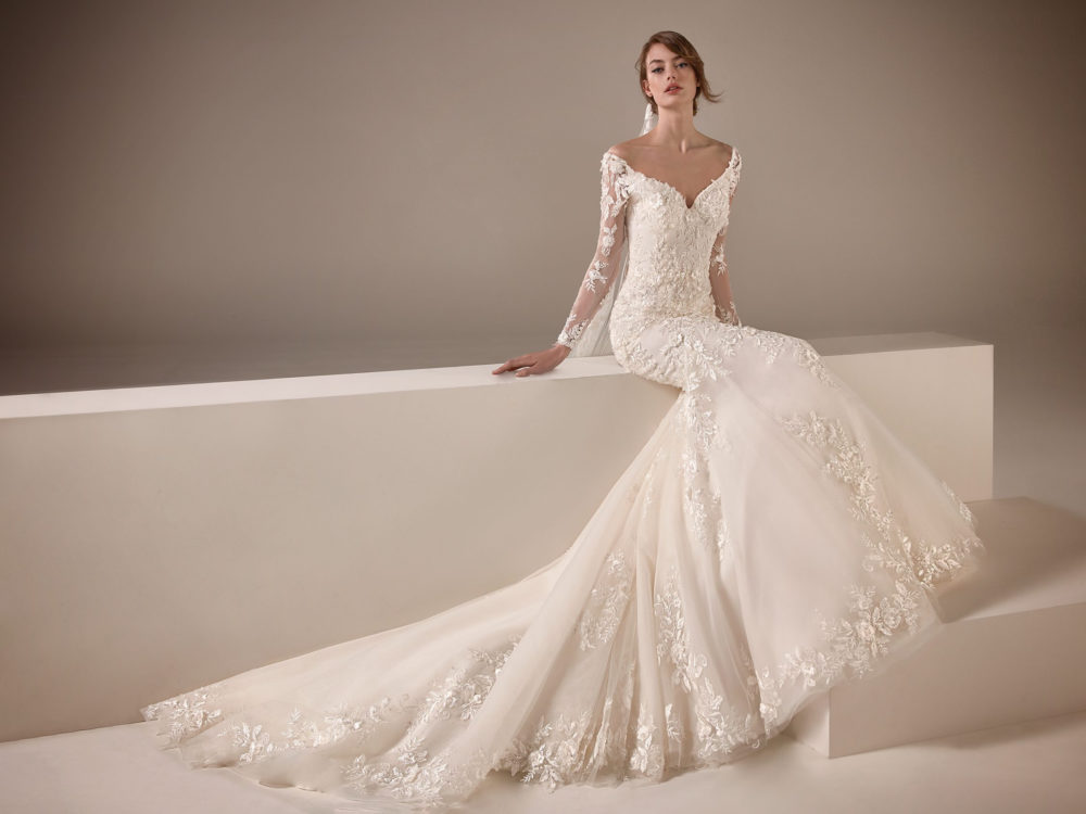 Kamala Wedding Dress Gown from Pronovias Privee Collection D