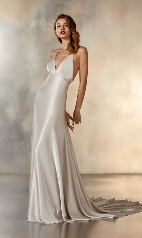 Pronovias Atelier Collection Ladder to the Moon Wedding Gown Dress 2020