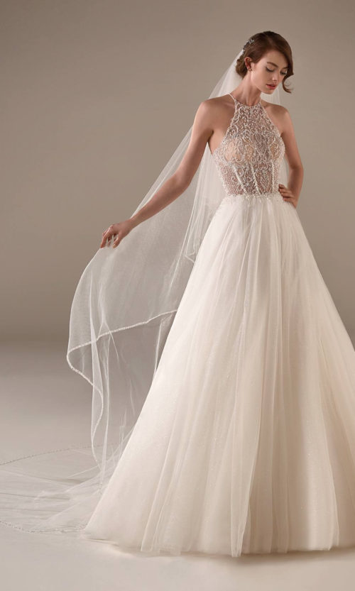 Loretta Wedding Dress Gown from Pronovias Privee Collection