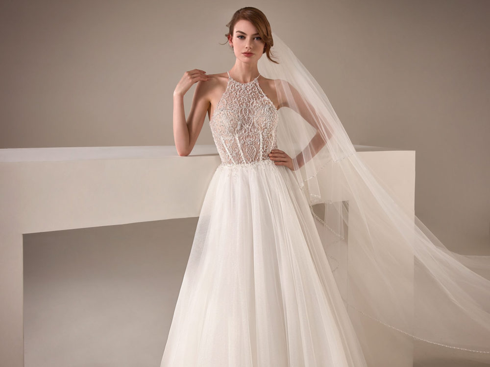 Loretta Wedding Dress Gown from Pronovias Privee Collection D
