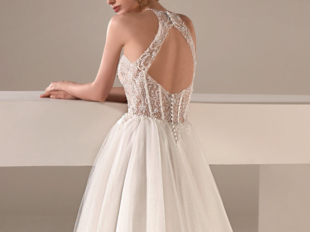 Loretta Wedding Dress Gown from Pronovias Privee Collection I